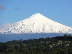Le majestueux volcan Villarica