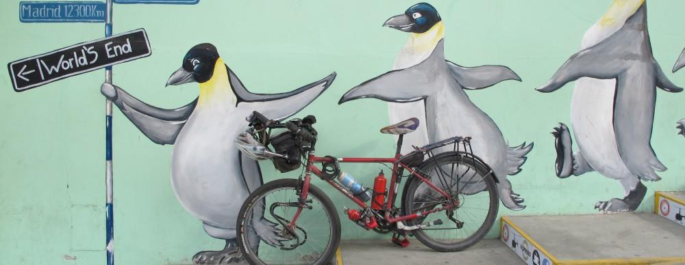 LA REVANCHE D'UNE CIGALE – De la Terre de pluie à la Terre de feu à bicyclette et à la voile !